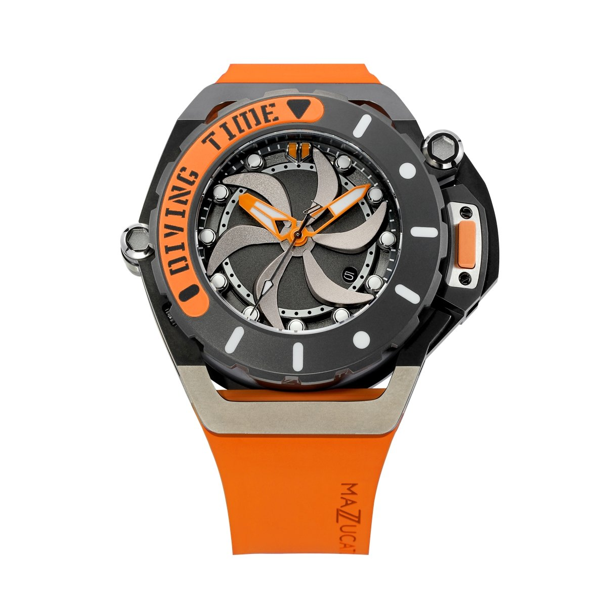 Mazzucato RIM Scuba Orange - Watches & Crystals