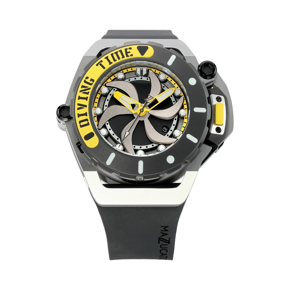 Mazzucato RIM Scuba Yellow - Watches & Crystals