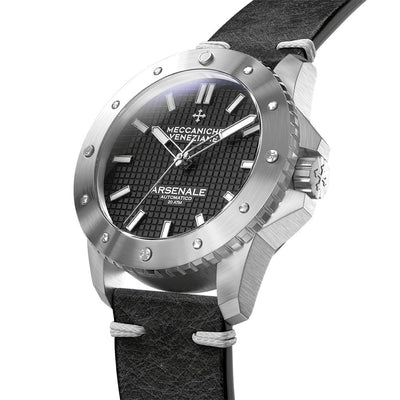 Meccaniche Veneziane Arsenale 4.0 Diver Black - Watches & Crystals