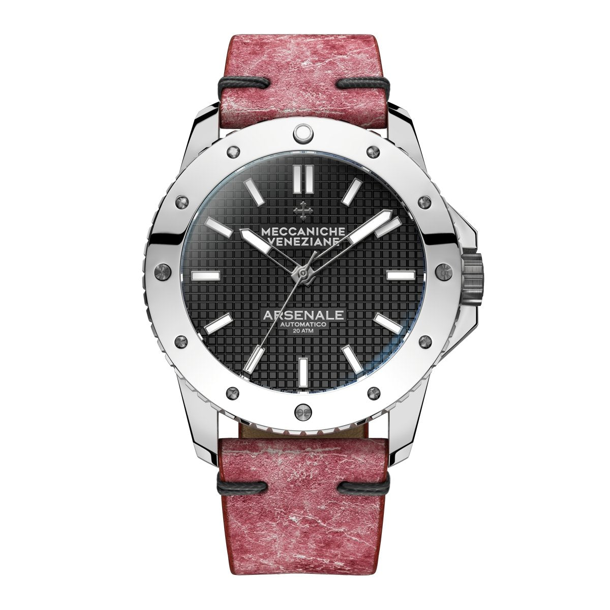 Meccaniche Veneziane Arsenale 4.0 Diver Chromed - Watches & Crystals