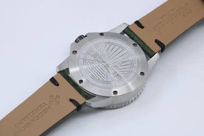 Meccaniche Veneziane Arsenale 4.0 Diver Green - Watches & Crystals