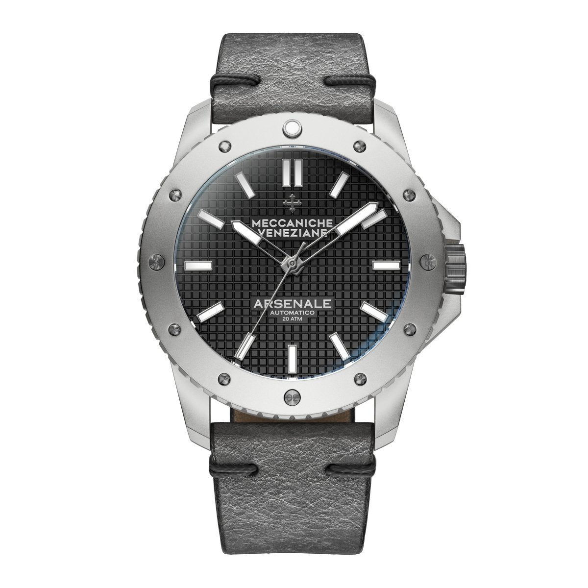 Meccaniche Veneziane Arsenale 4.0 Diver Grey - Watches & Crystals