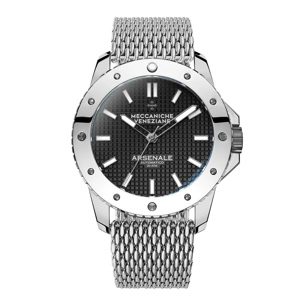 Meccaniche Veneziane Arsenale 45MM Stainless Steel - Watches & Crystals