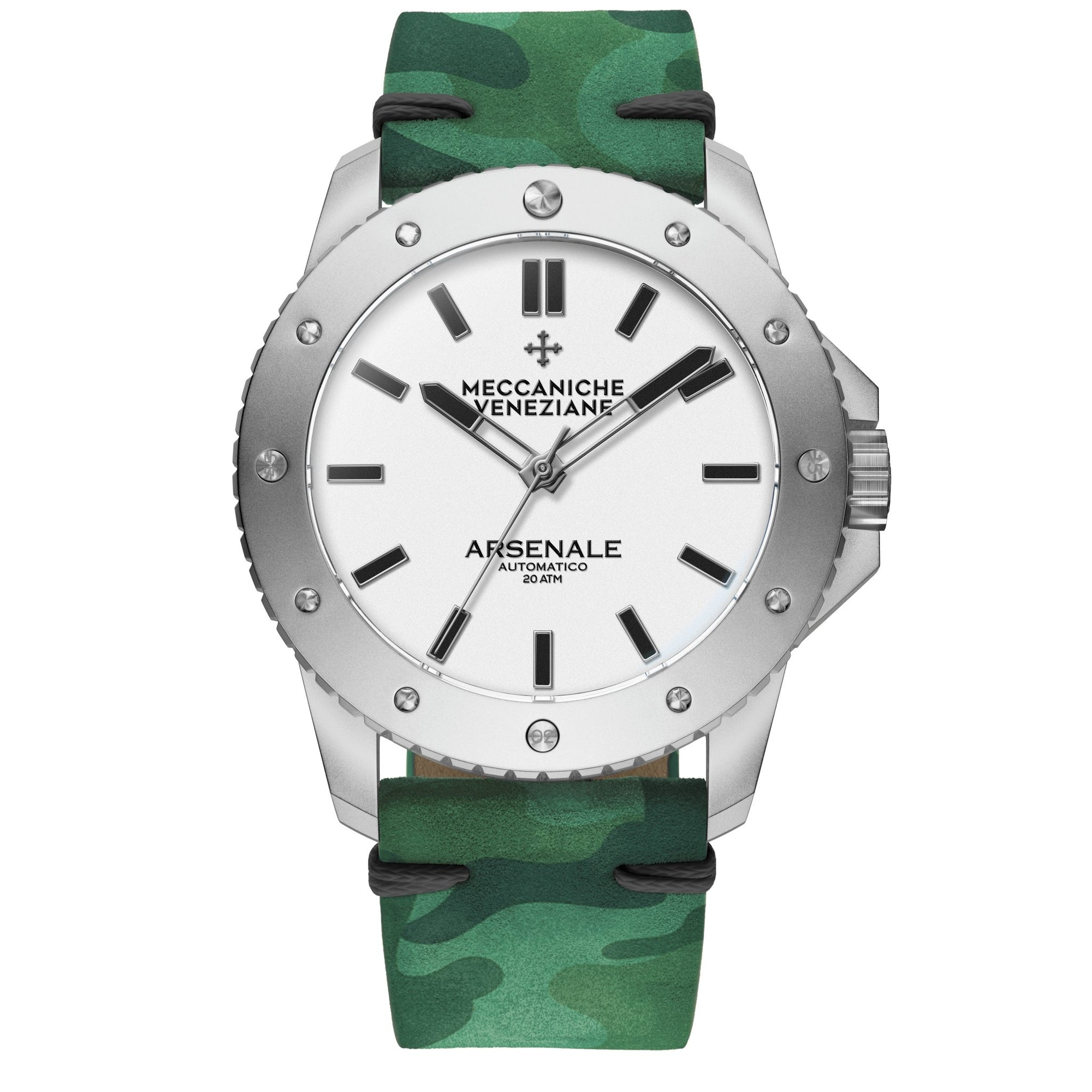 Meccaniche Veneziane Arsenale Forest Camouflage - Watches & Crystals