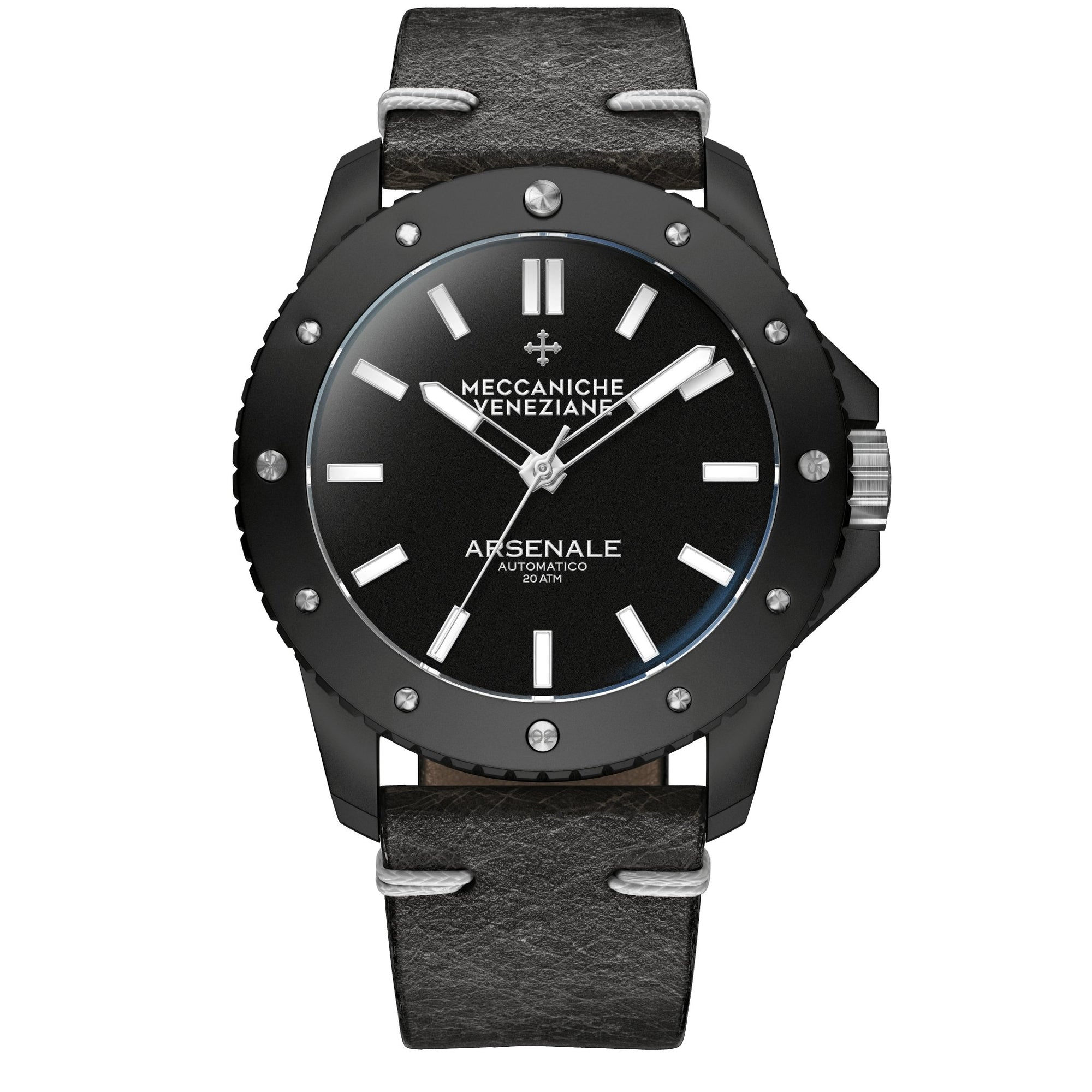 Meccaniche Veneziane Arsenale Triple Black - Watches & Crystals