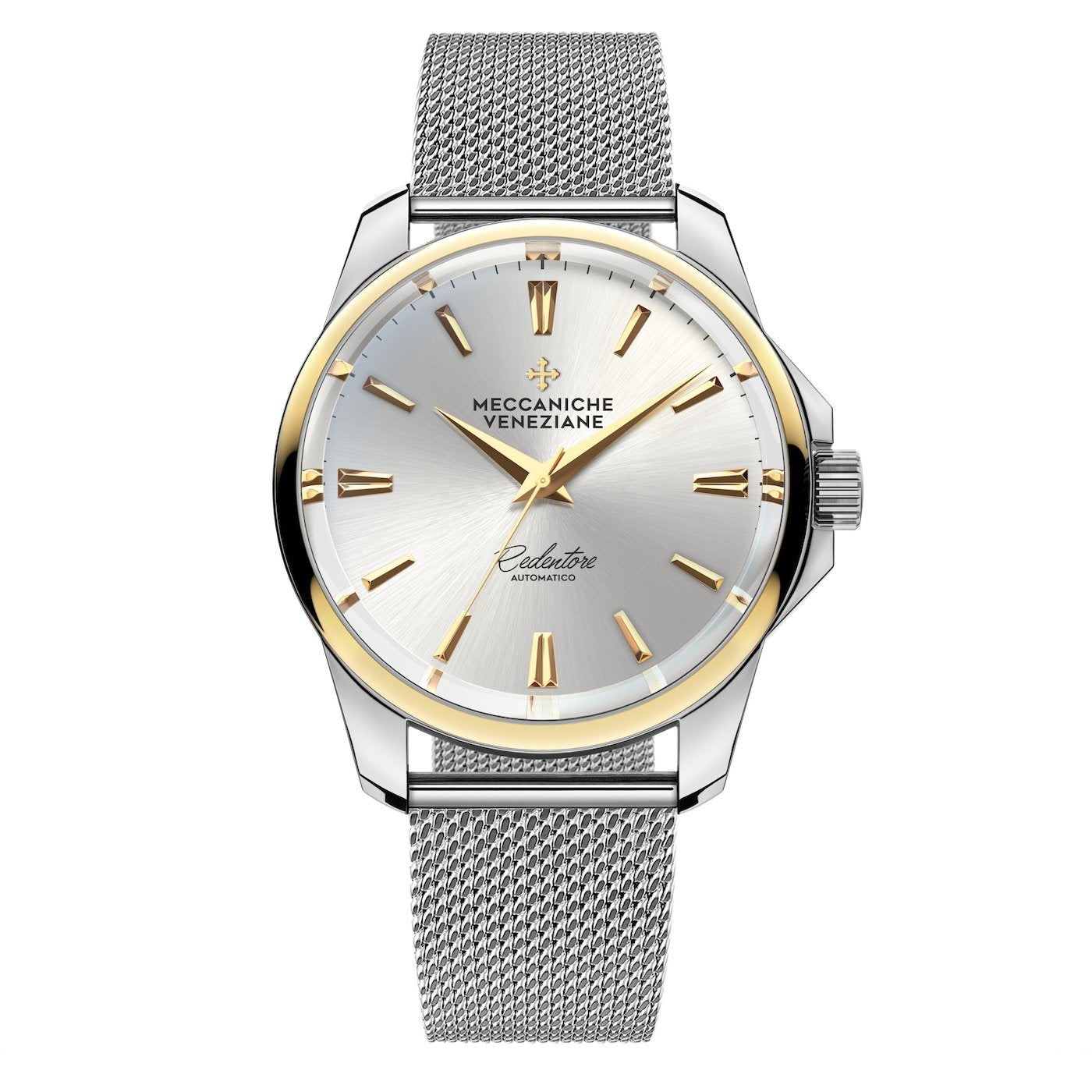Meccaniche Veneziane Redentore 36 Milanese IP Gold - Watches & Crystals