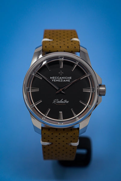 Meccaniche Veneziane Redentore Racing Brown - Watches & Crystals