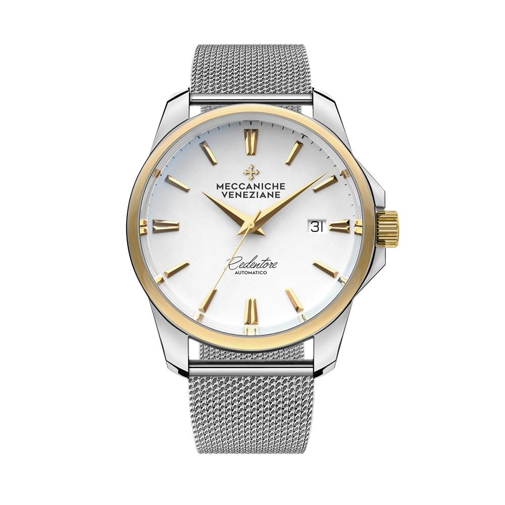 Meccaniche Veneziane Redentore White Yellow Gold - Watches & Crystals