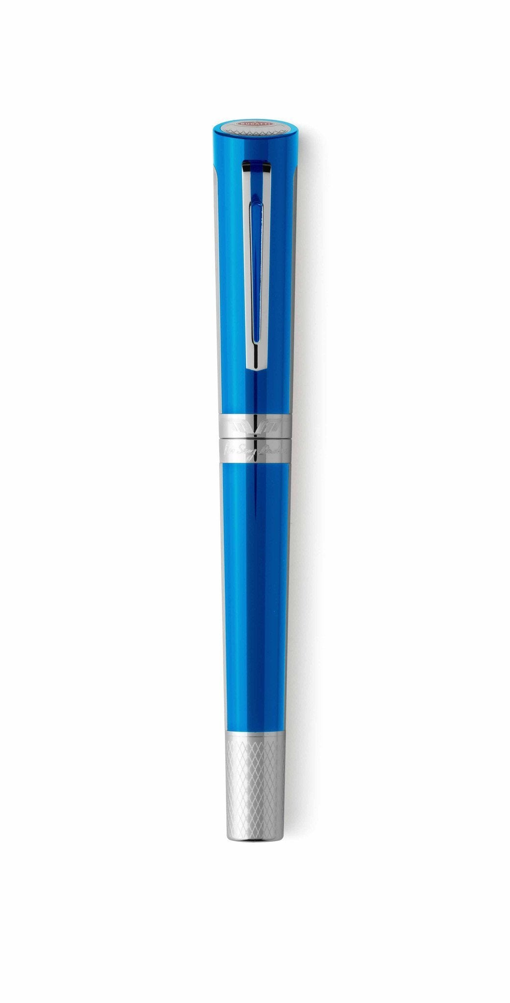 Montegrappa Pen Bugatti Pur Sang Fountain Pen Fine Bugatti Blue ISBDN2AB - Watches & Crystals