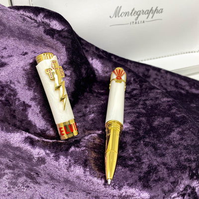 Montegrappa Pen Icons Elvis Presley Las Vegas Rollerball Pen ISICERYW - Watches & Crystals