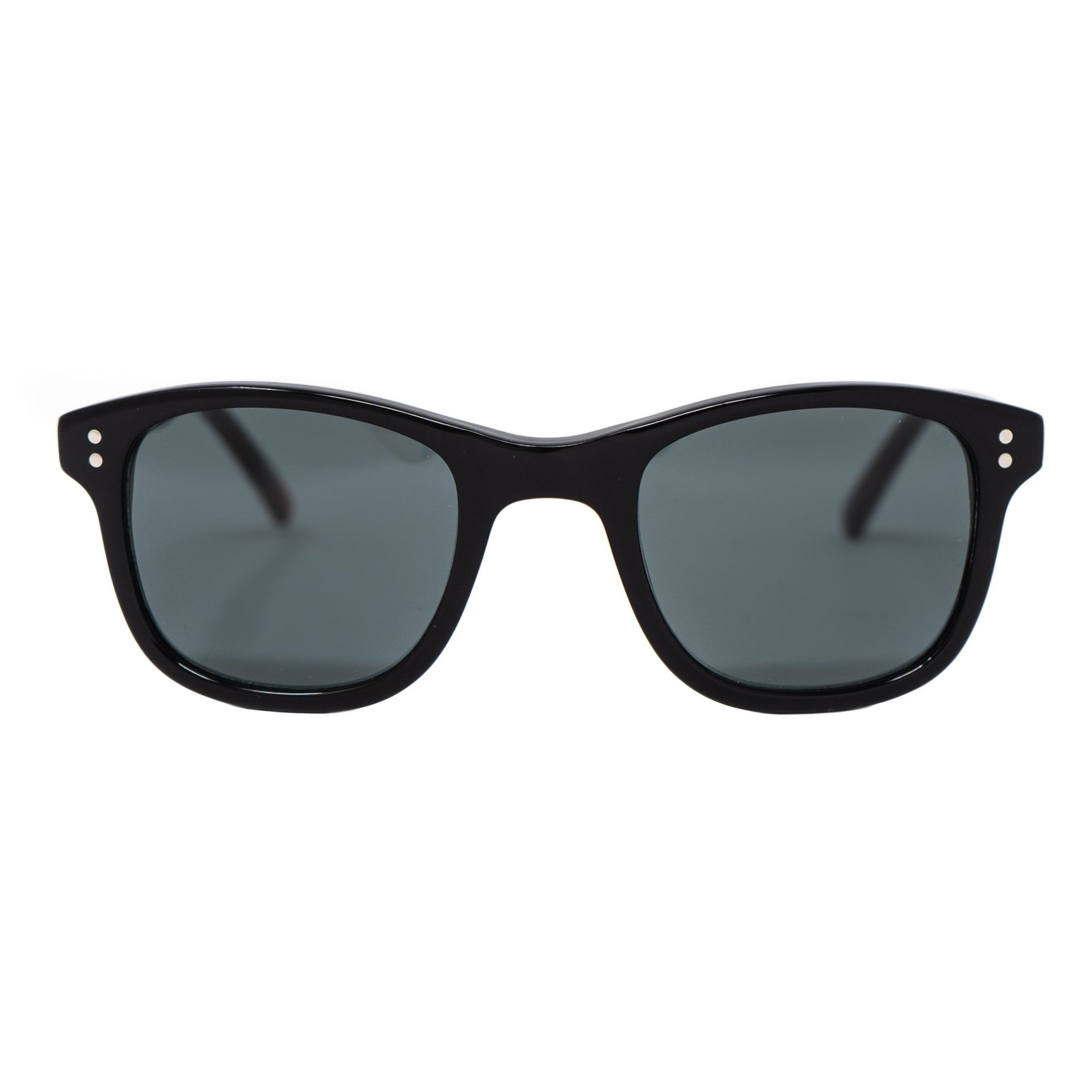 Oliver Spencer Sunglasses Unisex Wayfarer Black with Grey CAT3 Lenses - OS2C2SUN - Watches & Crystals