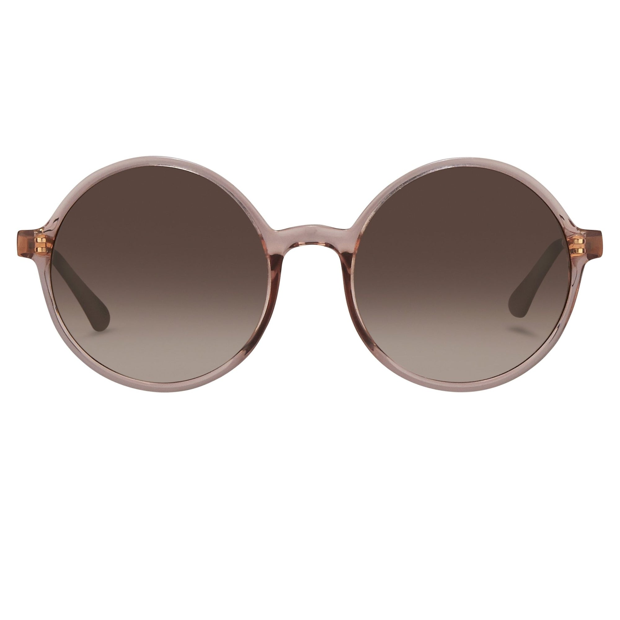 Orlebar Brown Sunglasses Round Fig with Brown Graduated Lenses OB27C5SUN - Watches & Crystals