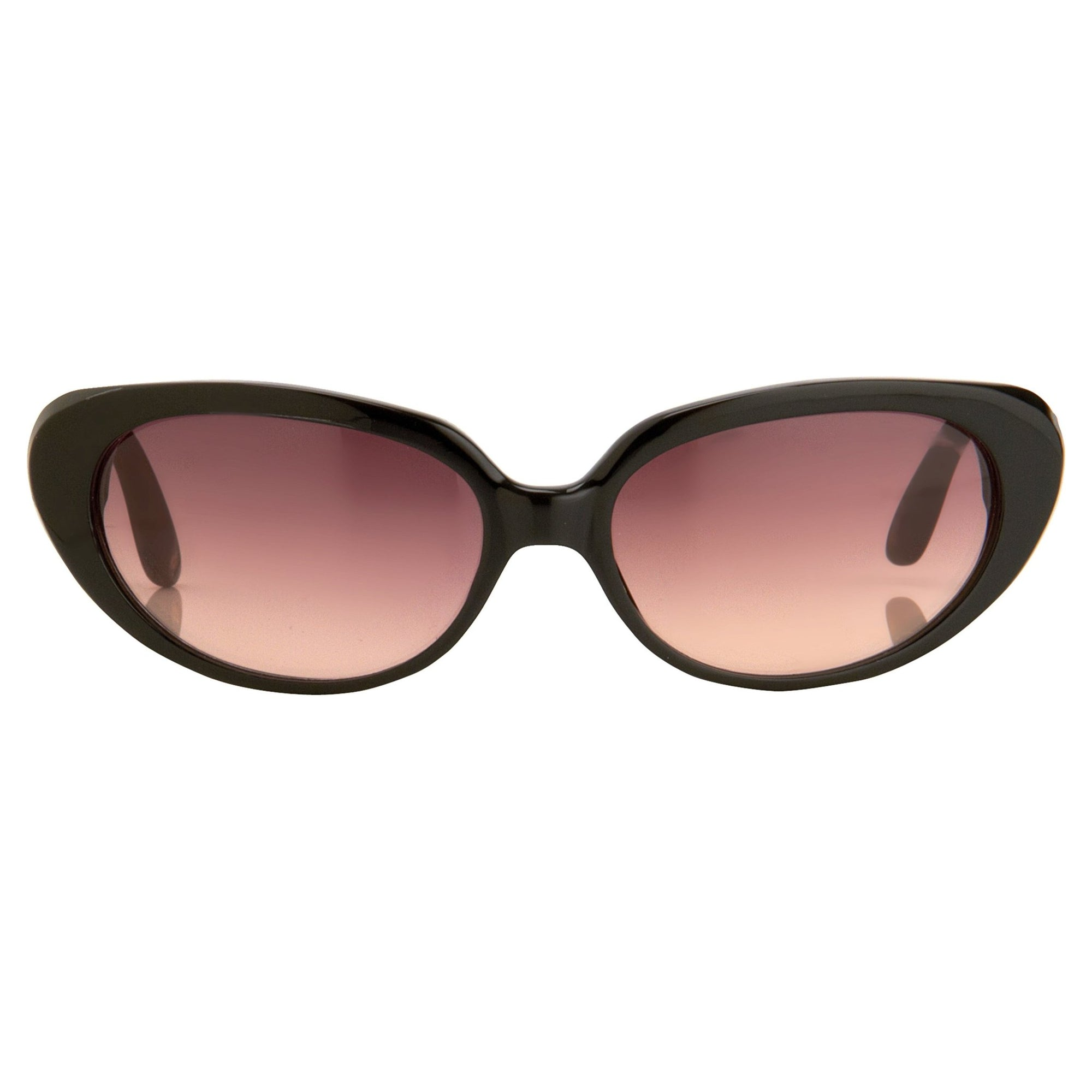Oscar De La Renta Eyeglasses Cat Eye Black and Pink Lenses - ODLR43C6SUN - Watches & Crystals