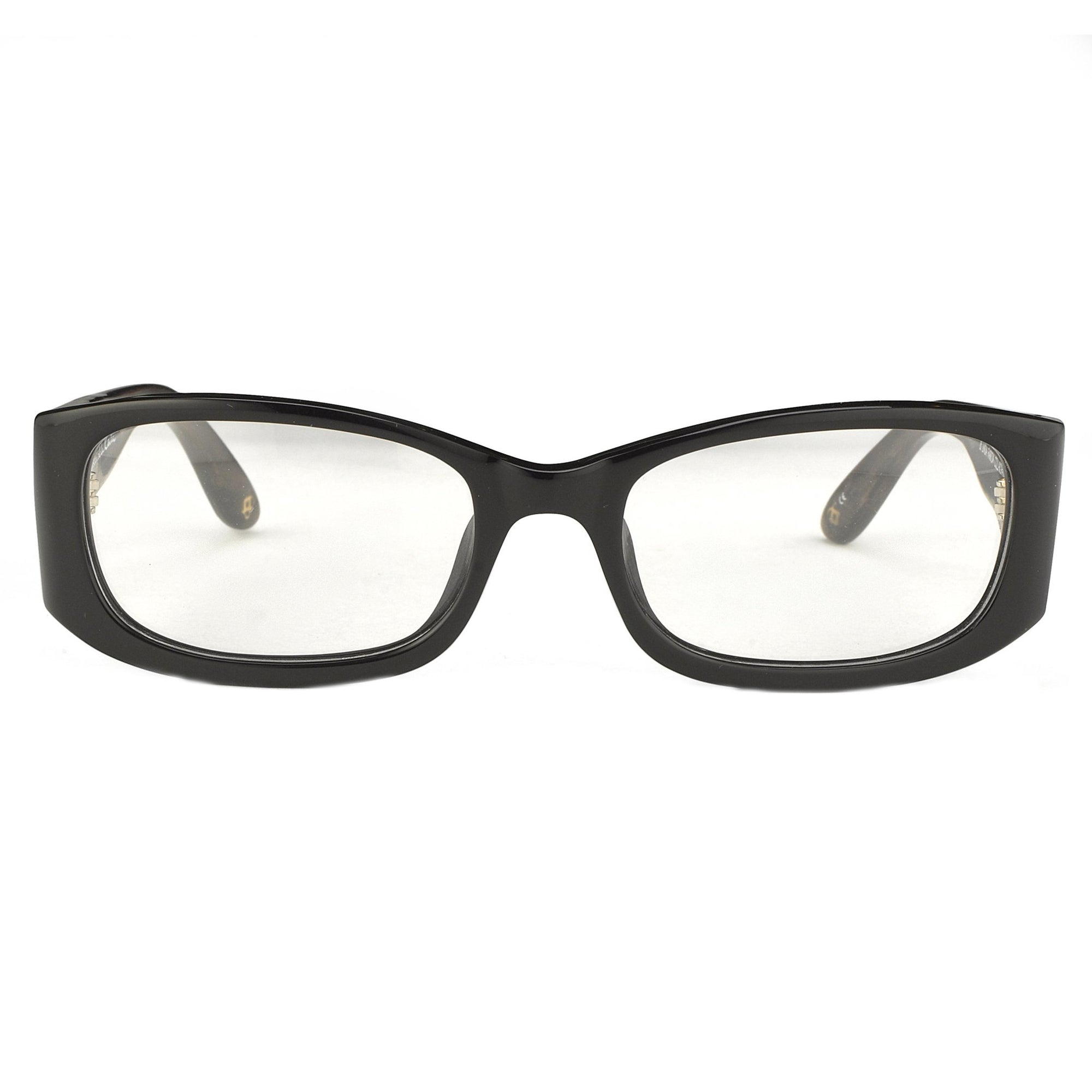 Oscar De La Renta Unisex Eyeglasses Rectangle Black Sandalwood with Clear Lenses - ODLR42C1OPT - Watches & Crystals