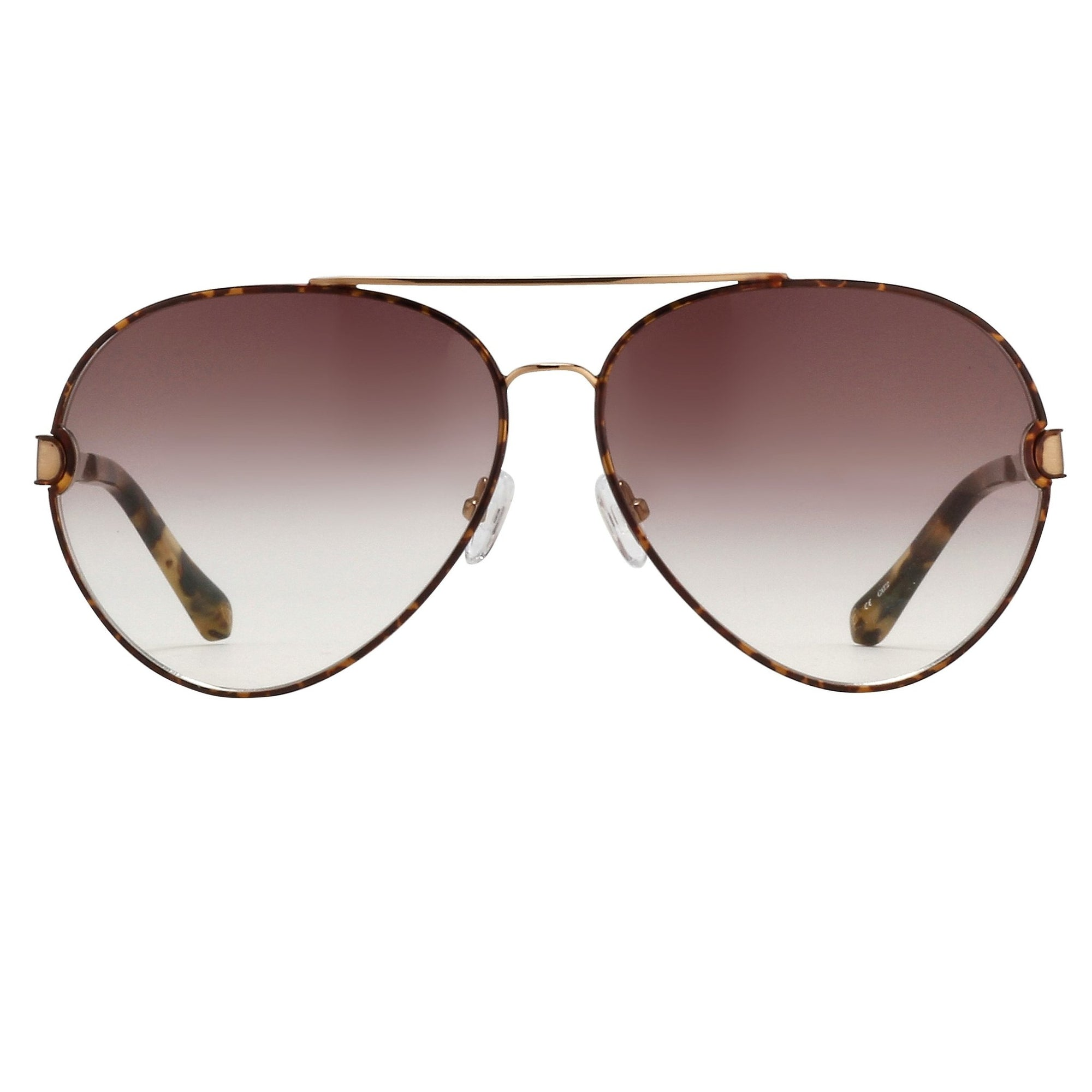 Oscar De La Renta Unisex Sunglasses Tortoise and Brown Gradient Lenses - ODLR59C2SUN - Watches & Crystals