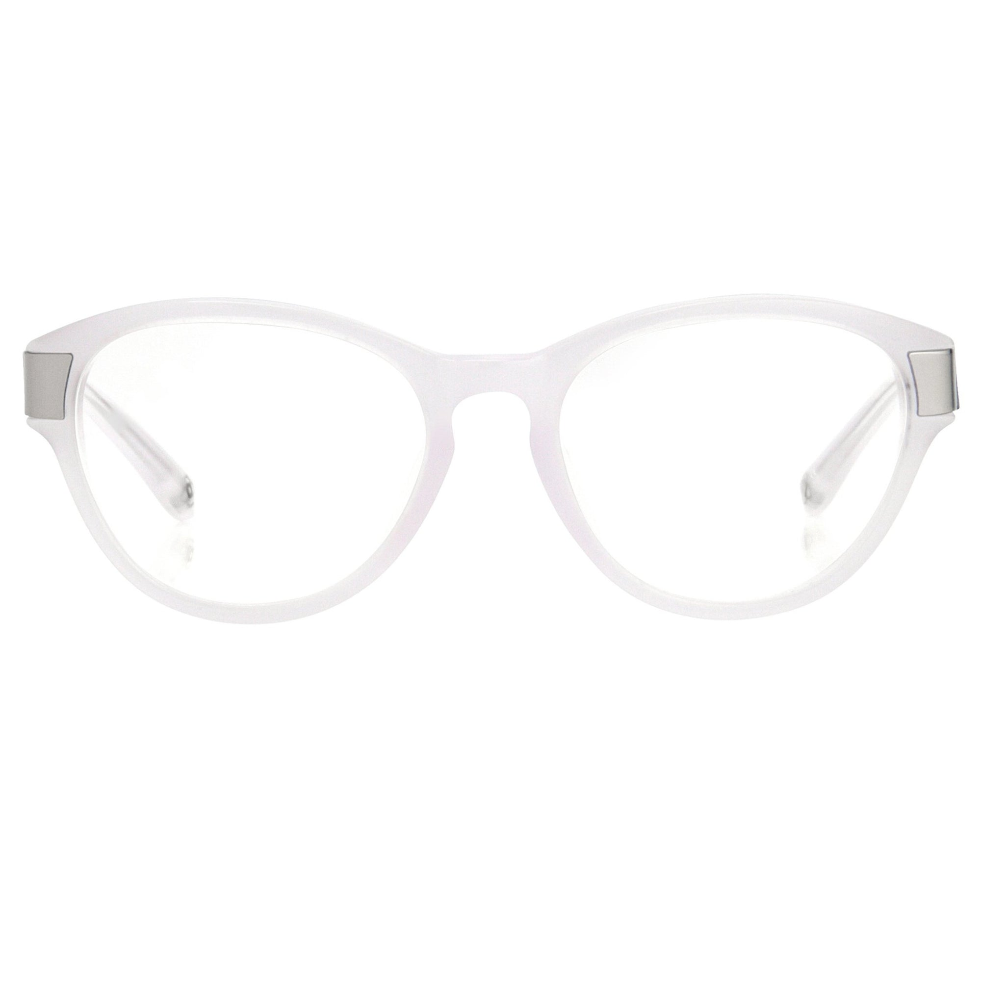 Oscar De La Renta Women Eyeglasses Oval Ivory White Mother of Pearl and Clear Lenses - ODLR37C3OPT - Watches & Crystals