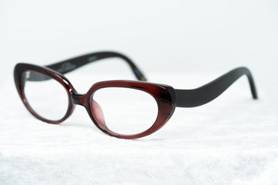 Oscar De La Renta Women Eyeglasses Oval Sandalwood Ruby and Clear Lenses - ODLR43C4OPT - Watches & Crystals