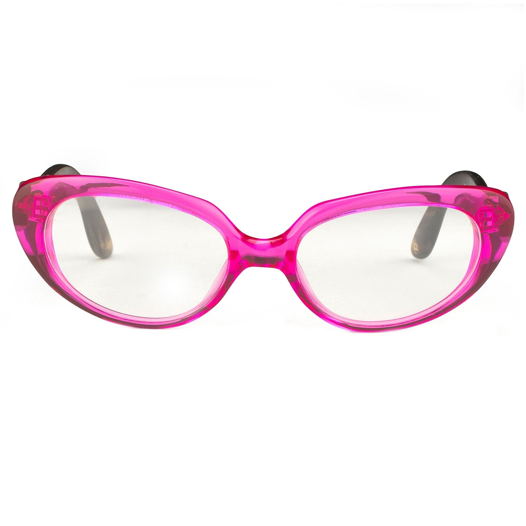 Oscar De La Renta Women Eyeglasses Sandalwood Cat Eye Pink and Clear Lenses - ODLR43C5OPT - Watches & Crystals