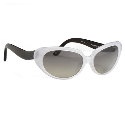Oscar De La Renta Women Sunglasses Sandalwood Oval Ivory and Grey Lenses - ODLR43C8SUN - Watches & Crystals