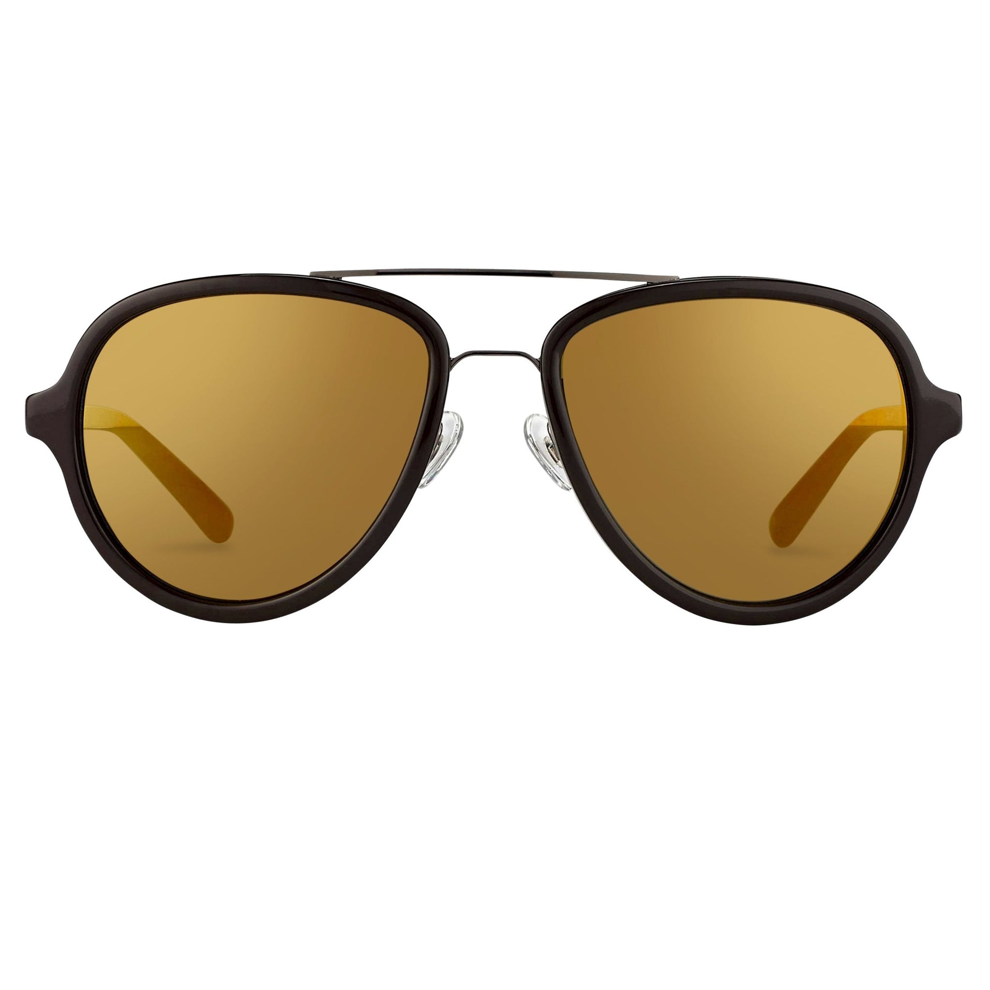 Phillip Lim Sunglasses Brown Gunmetal and Bronze Mirror Lenses Category 3 - PL16C20SUN - Watches & Crystals