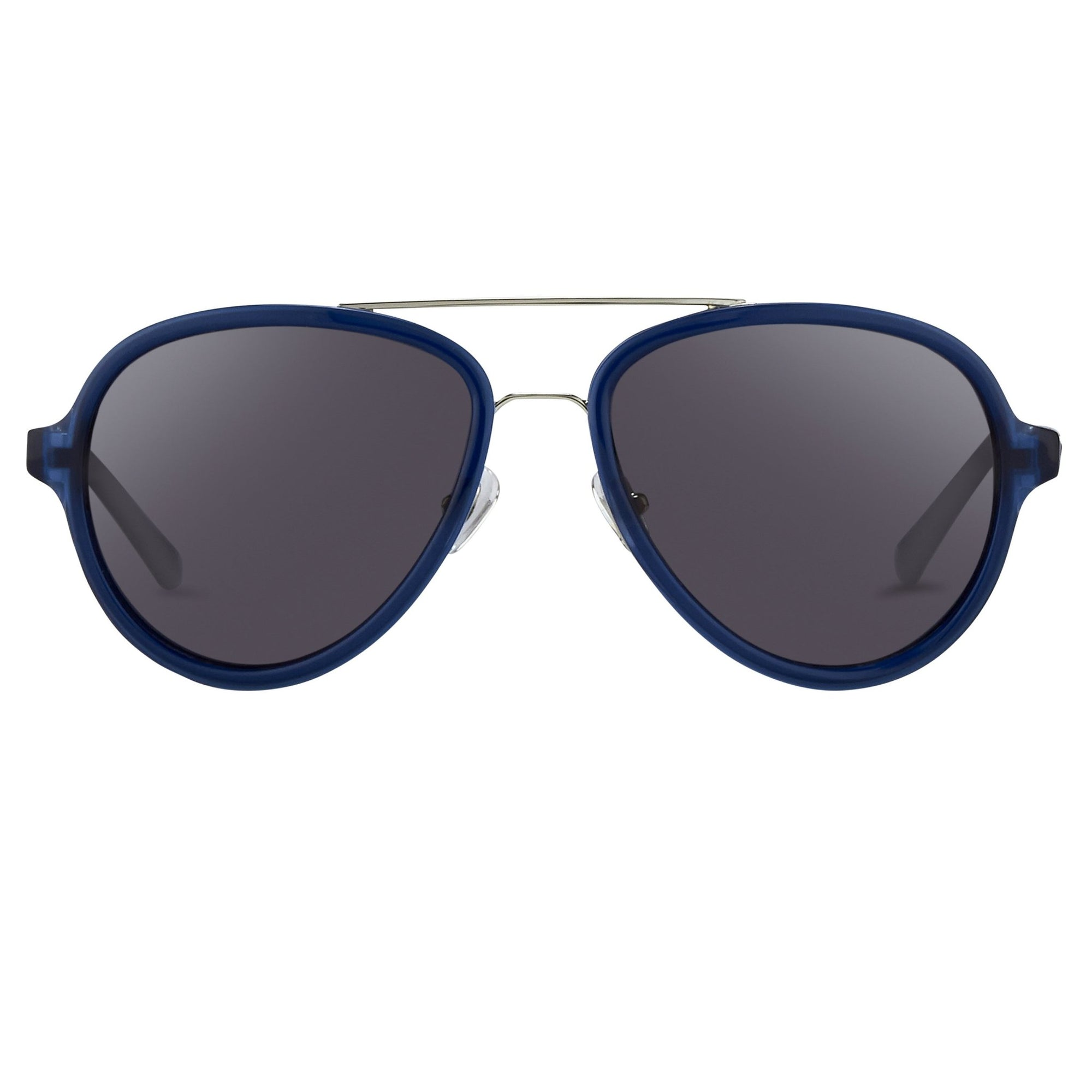 Phillip Lim Sunglasses Deep Blue Silver and Green Lenses Category 3 - PL16C29SUN - Watches & Crystals
