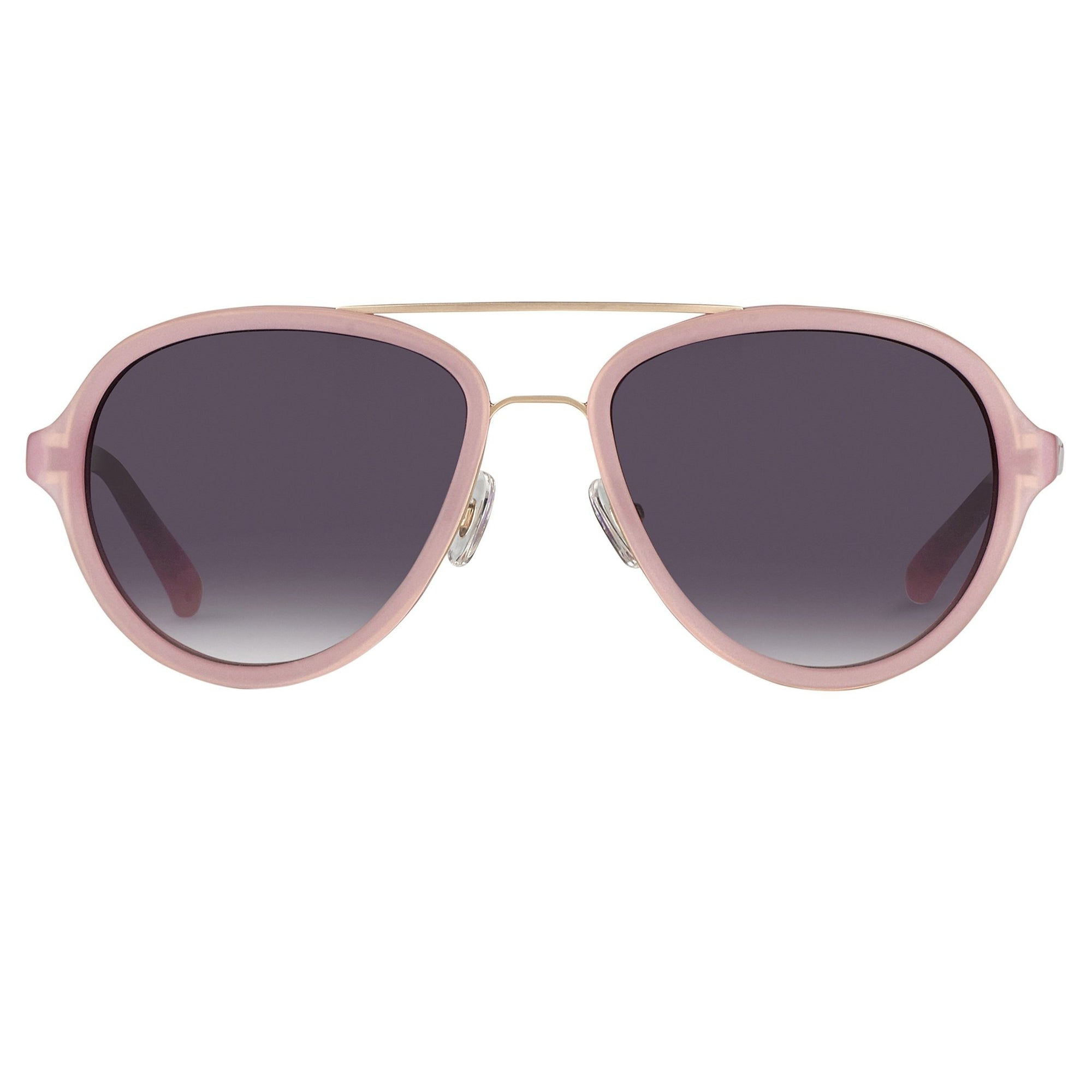 Phillip Lim Sunglasses Pink Brushed Gold and Grey Graduated Lenses Category 3 - PL16C15SUN - Watches & Crystals