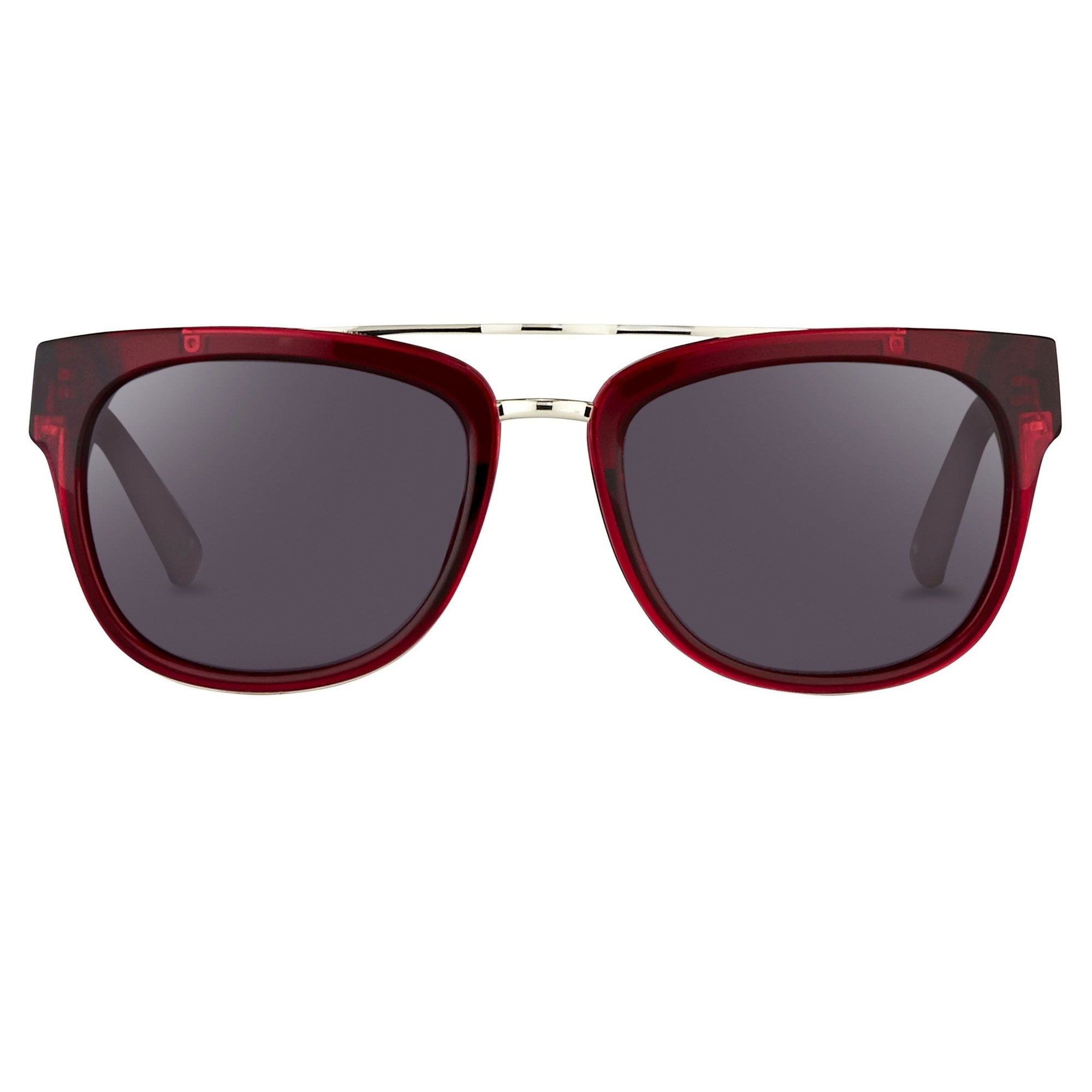 Phillip Lim Sunglasses with Rectangular Merlot Silver and Green Lenses Category 3 - PL144C4SUN - Watches & Crystals