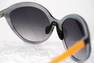Prabal Gurung Sunglasses Female Oversized Grey Horn Trans Orange Category 3 Grey Lenses PG22C3SUN - Watches & Crystals
