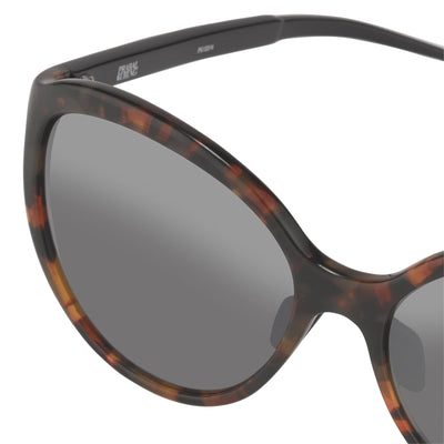 Prabal Gurung Sunglasses Female Oversized TortoiseShell Category 3 Grey Lenses PG22C6SUN - Watches & Crystals