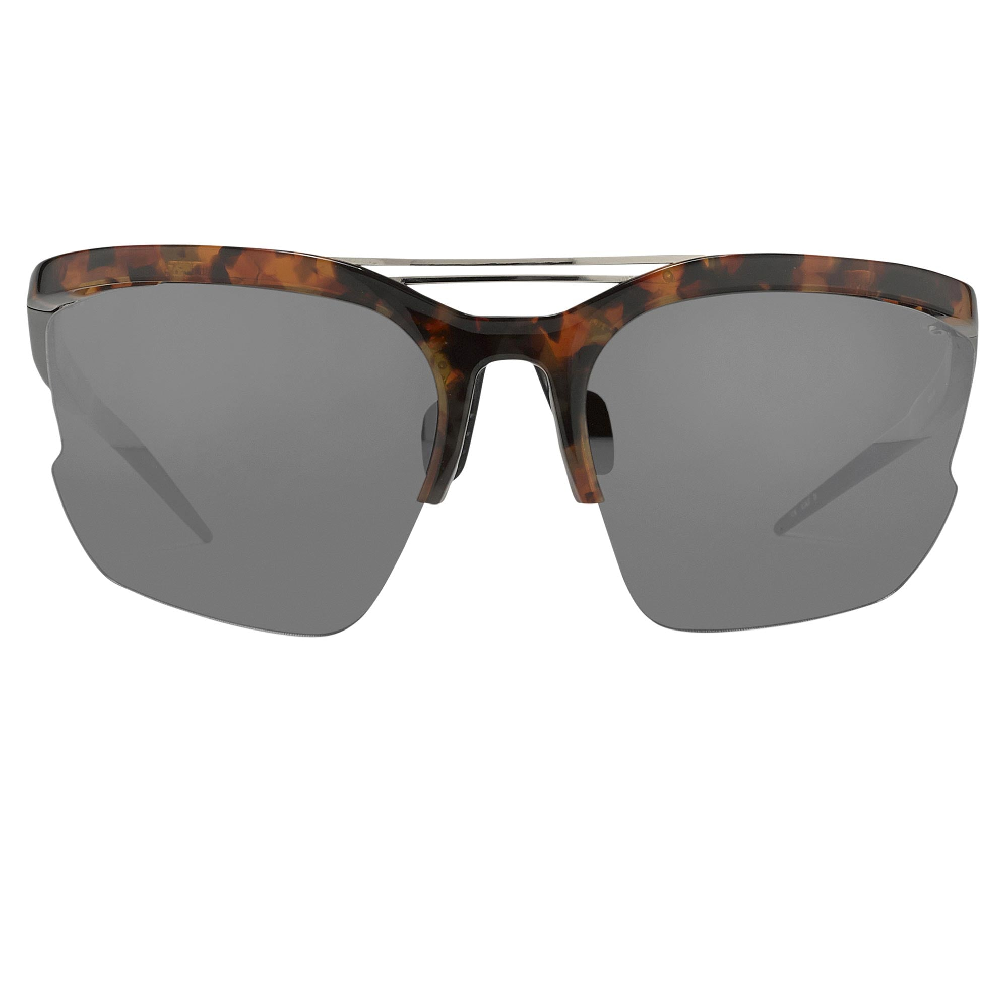 Prabal Gurung Sunglasses Female Special Frame Tortoiseshell Category 3 Black Lenses PG21C6SUN - Watches & Crystals