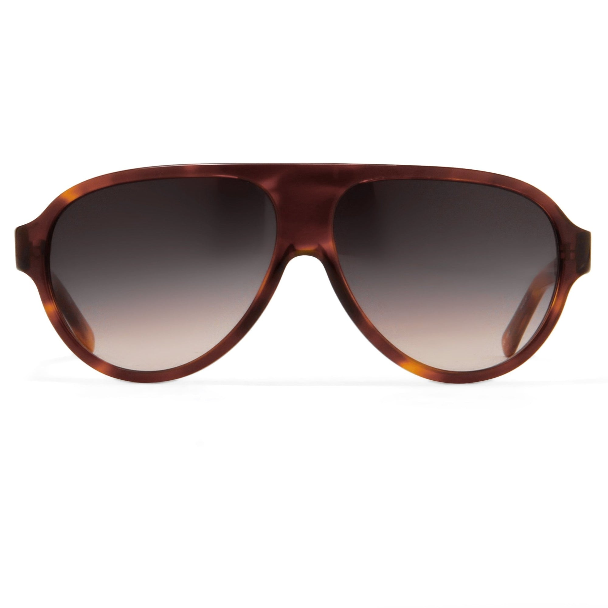 Prabal Gurung Sunglasses Unisex Aviator Tortoise Shell Acetate CAT2 Grey Gradient Lenses PG16C2SUN - Watches & Crystals