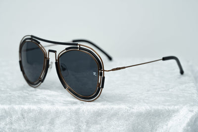Raf Simons Sunglasses Brown and Dark Grey Lenses Category 3 - 9RAF12C1MATTCOPPER - Watches & Crystals