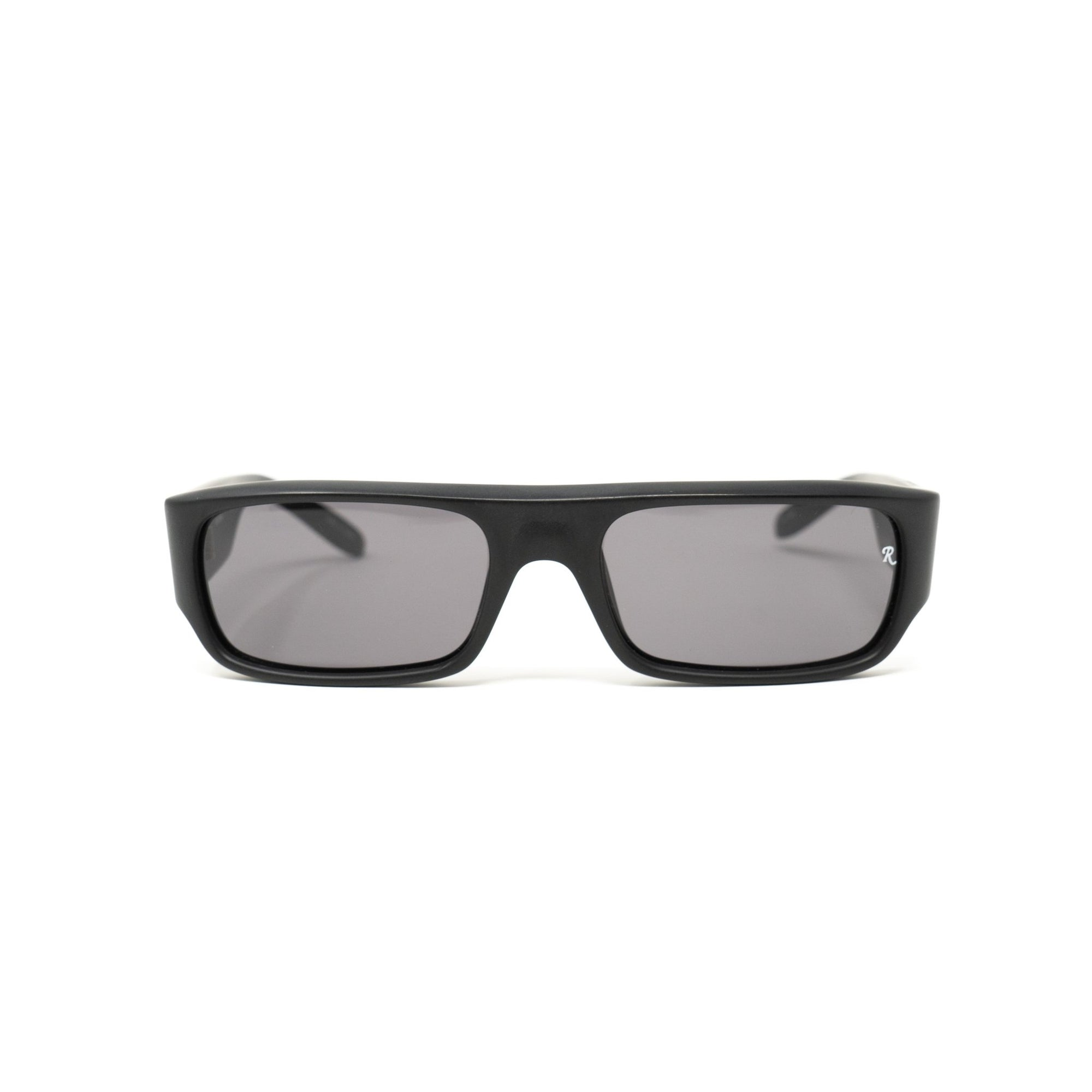 Raf Simons Sunglasses Flat Top Matte Black and Grey Lenses - 9RAF9C1MATTBLACK - Watches & Crystals
