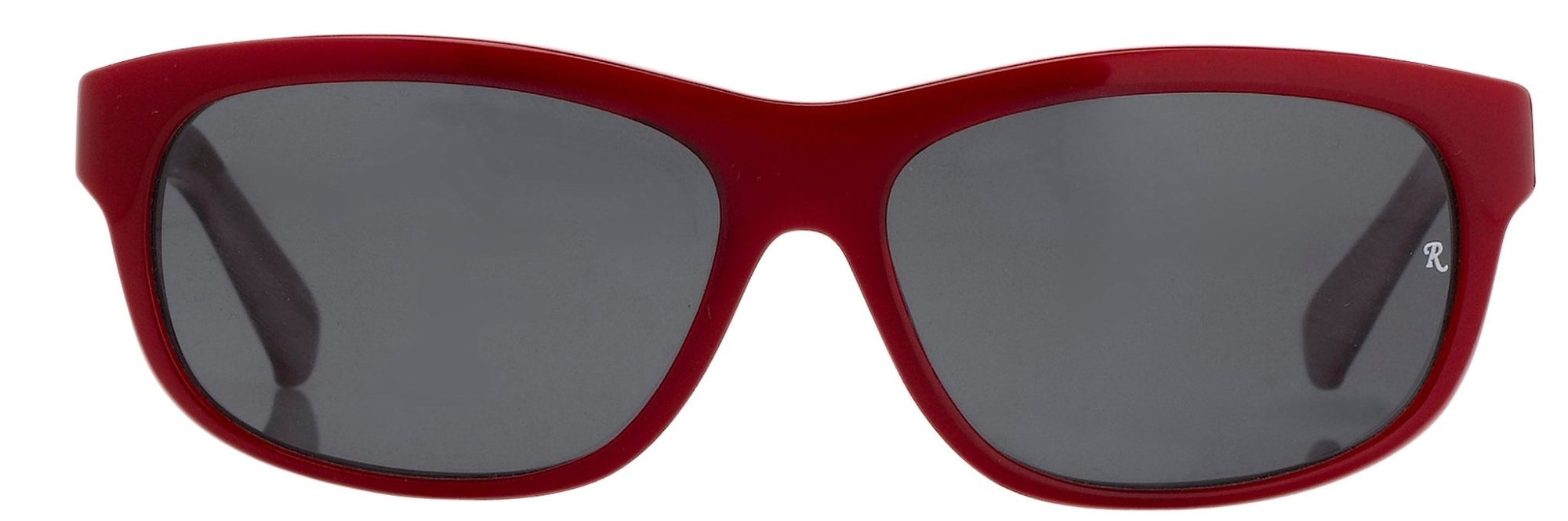 Raf Simons Sunglasses Oval Red Pearl and Grey Lenses - RAF15C3SUN - Watches & Crystals