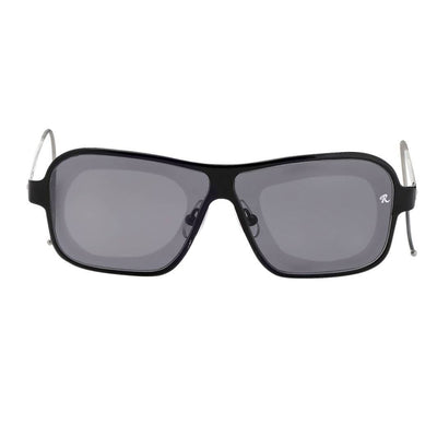 Raf Simons Sunglasses Rectangular Black and Grey Lenses Category 4 - RAF19C1SUN - Watches & Crystals