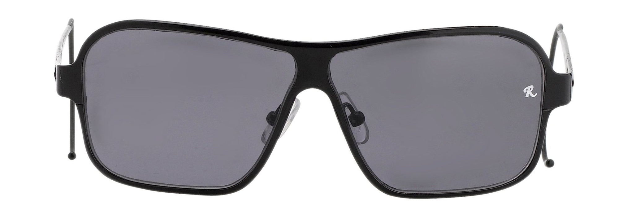 Raf Simons Sunglasses Rectangular Black and Grey Lenses Category 4 - RAF19C3SUN - Watches & Crystals