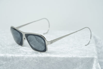Raf Simons Sunglasses Rectangular Silver and Grey Lenses Category 4 - RAF19C2SUN - Watches & Crystals
