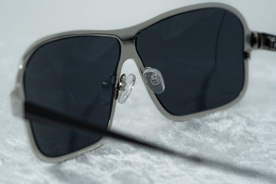 Raf Simons Sunglasses Rectangular Silver and Grey Lenses Category 4 - RAF19C4SUN - Watches & Crystals