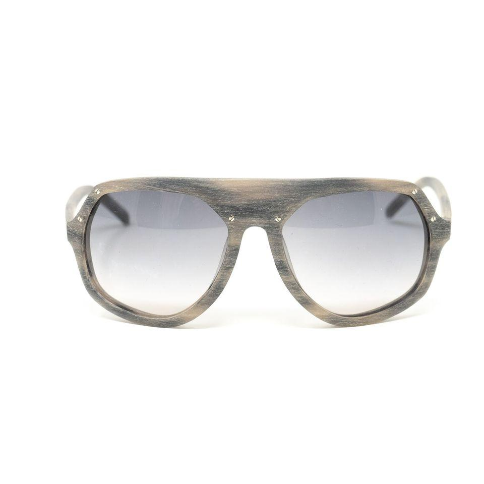 Raf Simons Sunglasses Shield Brown Blue and Grey Lenses - 8RAF7CBROWNBLUE - Watches & Crystals