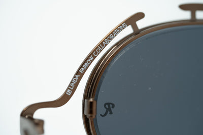 Raf Simons Sunglasses Special Shape Brown and Dark Grey Lenses Category 3 - 9RAF13C1MATTCOPPER - Watches & Crystals