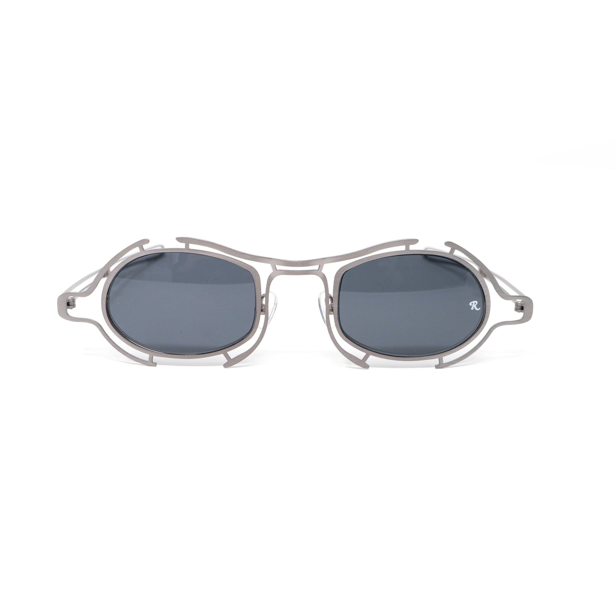 Raf Simons Sunglasses Special Shape Grey and Dark Grey Lenses Category 3 - 9RAF13C2MATTGUN - Watches & Crystals