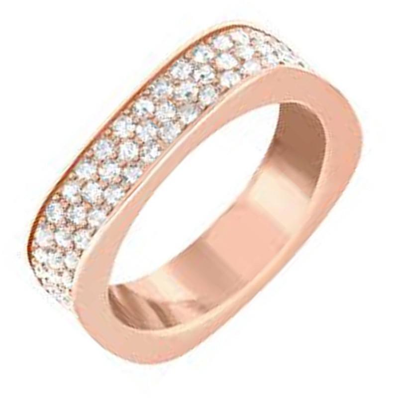 Swarovski Vio Ring Rose Gold - Watches & Crystals