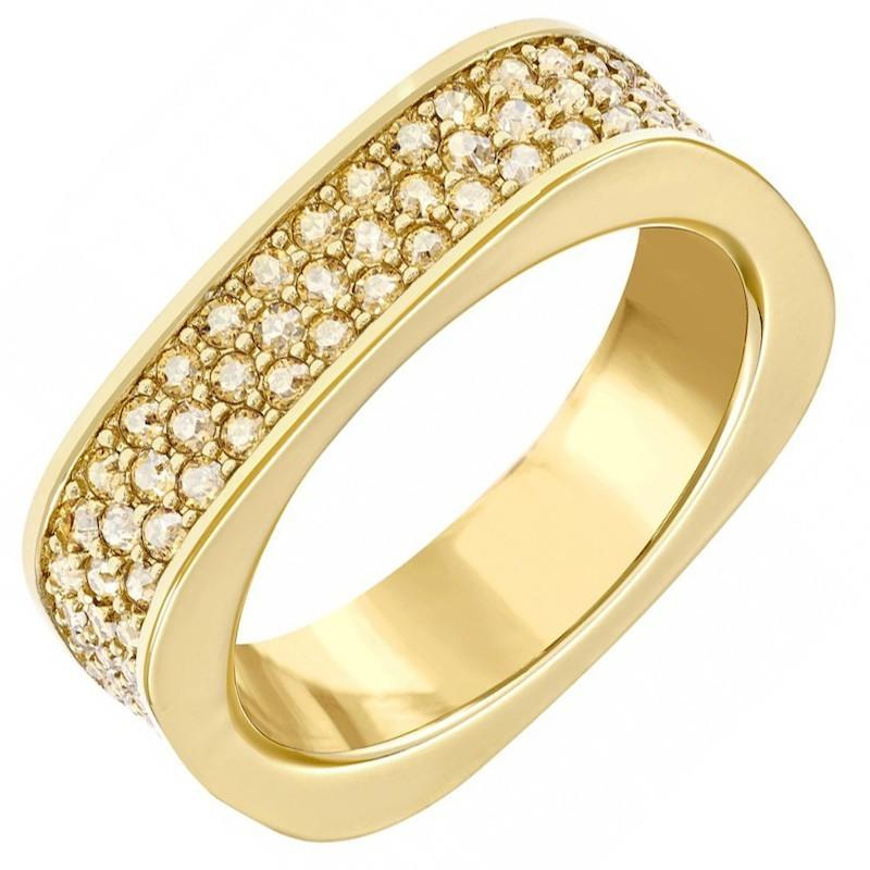 Swarovski Vio Ring Yellow Gold - Watches & Crystals