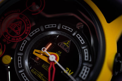 The Electricianz Nylon The Ammeter - Watches & Crystals