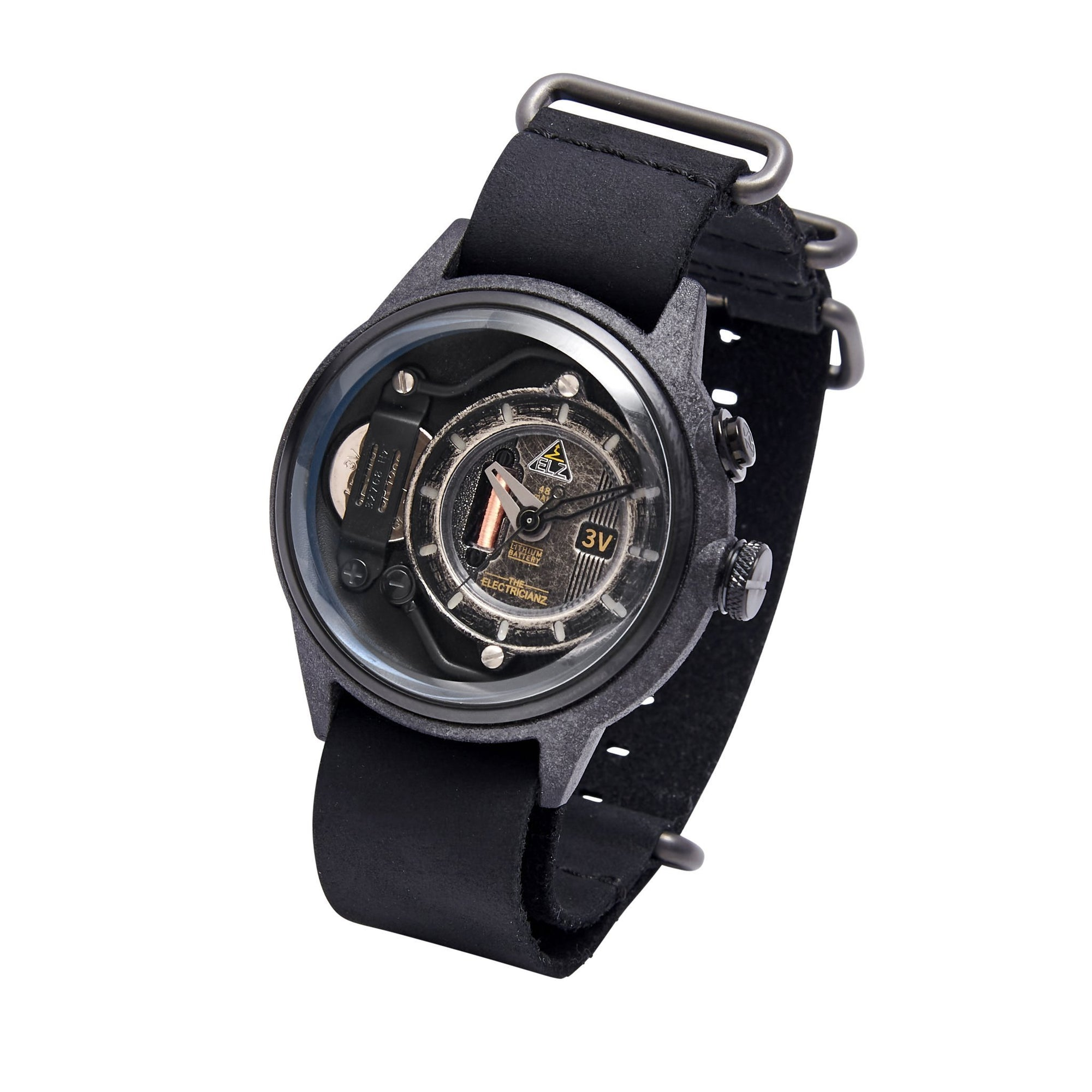 The Electricianz Nylon The Blackout - Watches & Crystals