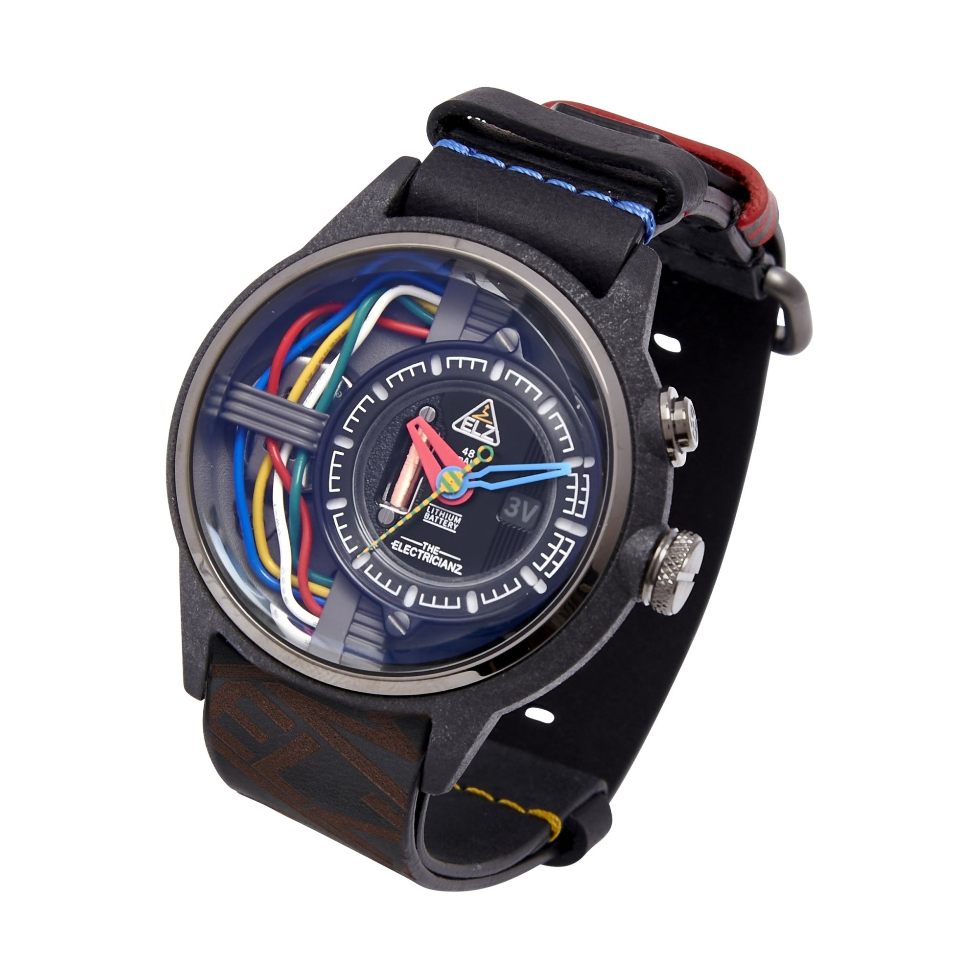 The Electricianz Nylon The Carbon Z - Watches & Crystals