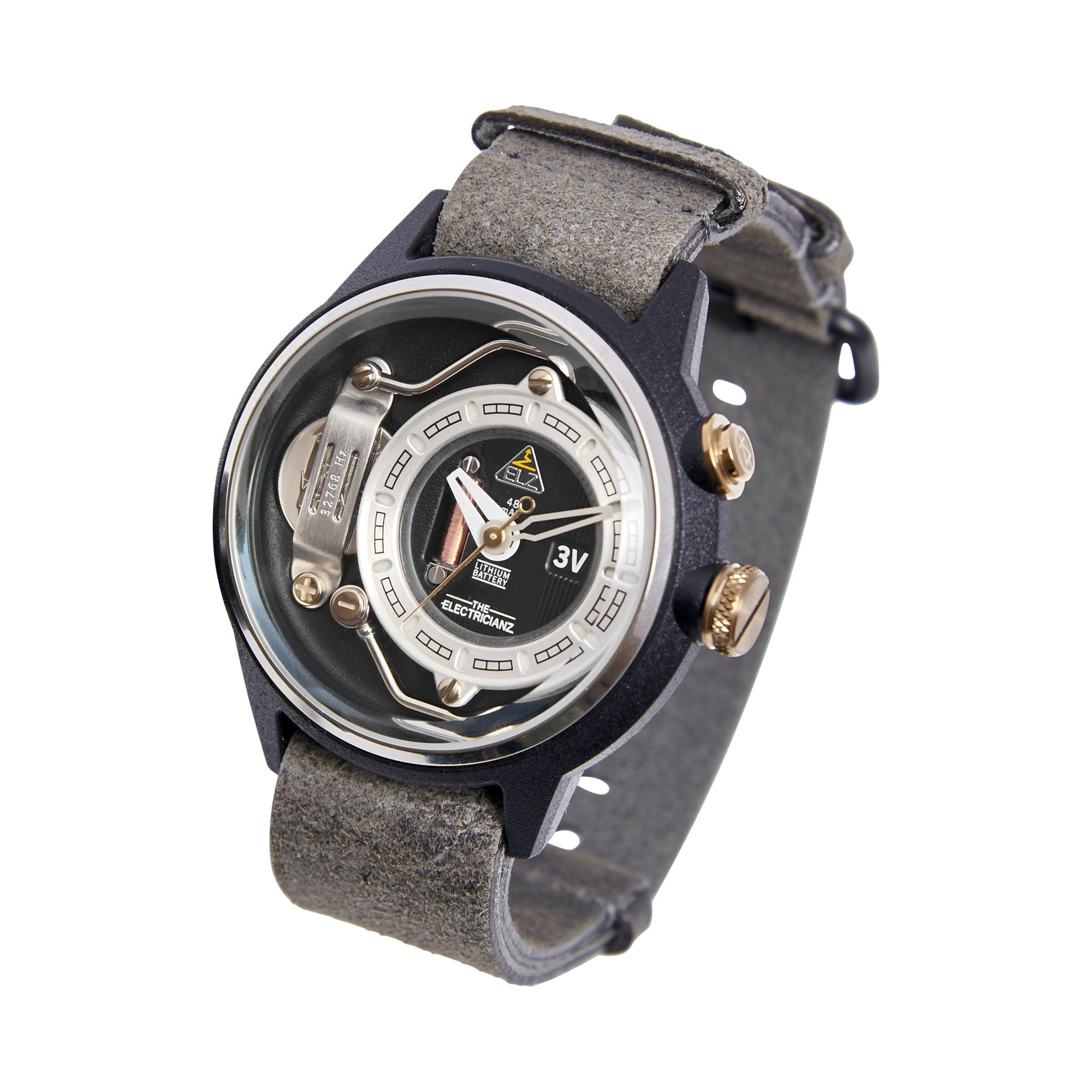 The Electricianz Nylon The Dresscode Greyz - Watches & Crystals