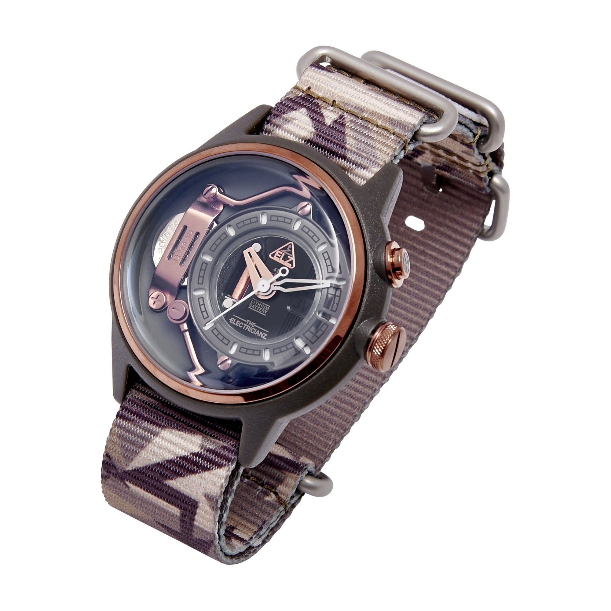 The Electricianz Nylon The Mokaz Camo - Watches & Crystals