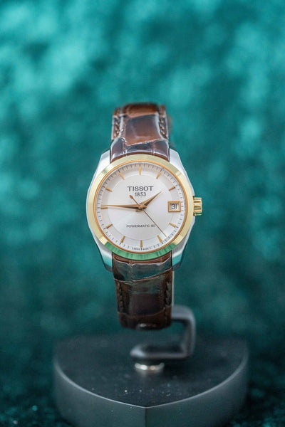 Tissot Couturier Date Leather Strap - Watches & Crystals