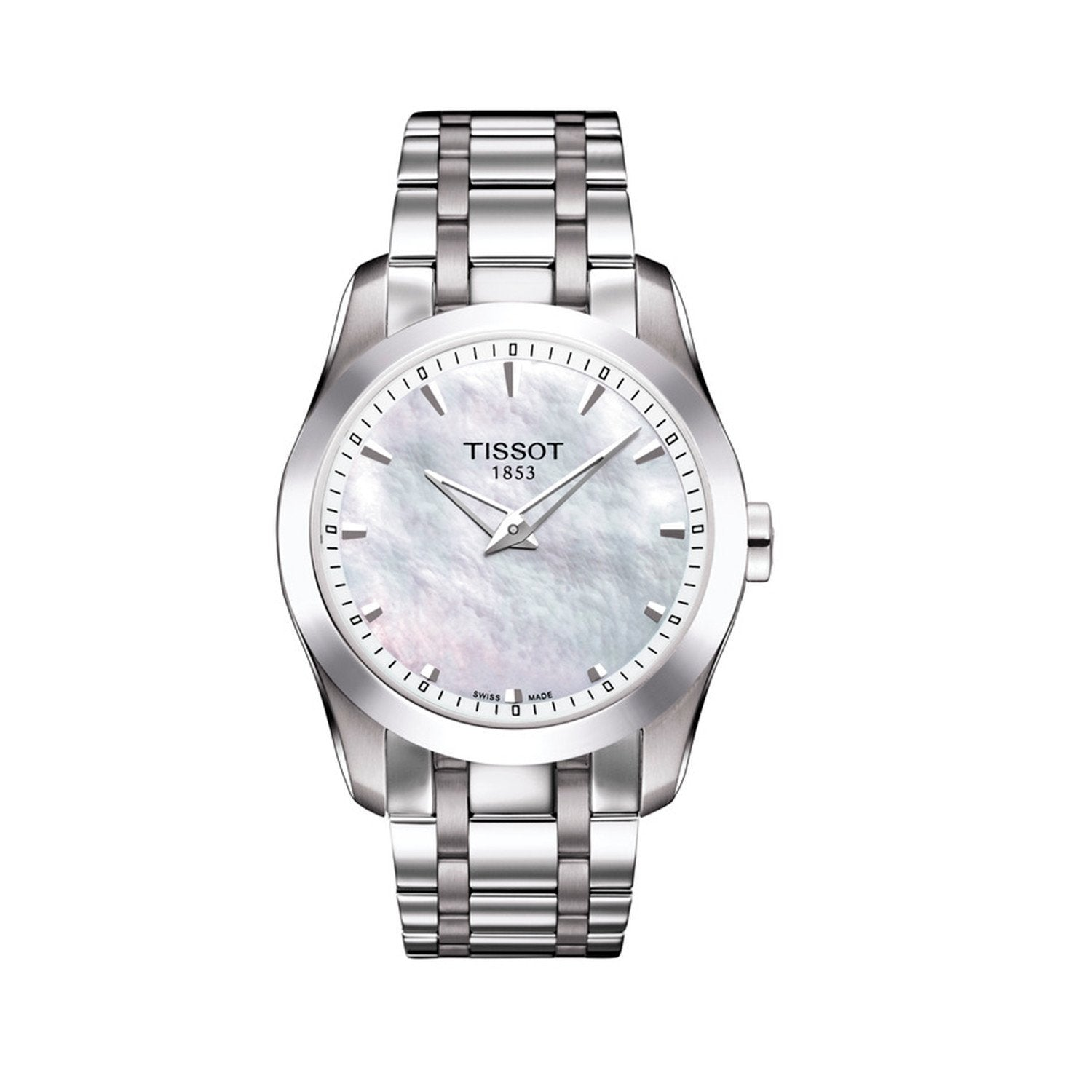 Tissot Couturier Date Steel - Watches & Crystals